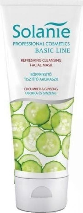 Masca exfolianta Solanie cu extract de castravete 125 ml Tratamente, serumuri
