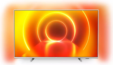 Televizor LED 108 cm Philips 43PUS785512 Ultra HD 4K Smart TV Argintiu Televizoare