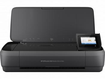 Imprimanta portabila multifunctionala HP OfficeJet 250 All-in-One A4 USB WiFi Black Multifunctionale
