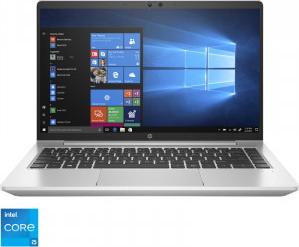 Laptop HP Probook 440 G8 Intel Core (11th Gen) i5-1135G7 512GB SSD 16GB Intel Iris XE Graphics FullHD Win10 Pro FPR T.Ilum. Silver