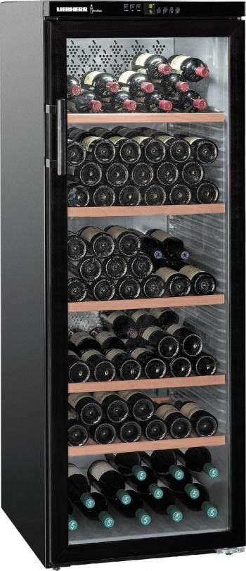 Vitrina frigorifica pentru vinuri Liebherr WTB 4212 395 L Clasa G 200 sticle MagicEye Negru