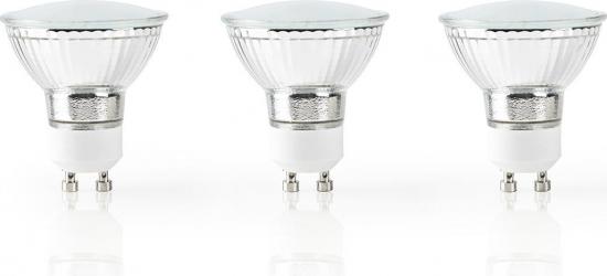 Bec LED Smart WiFi Nedis GU10 330 lm 2700 - 6500K 3 bucati Corpuri de iluminat