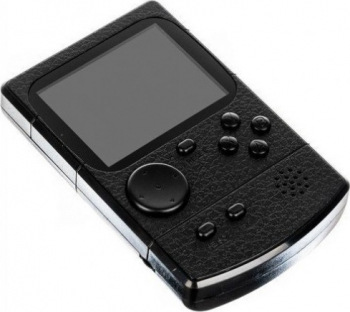 Consola retro portabila cu 256 jocuri clasice 12x8 cm Negru