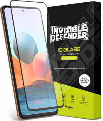 Folie Sticla Premium Ringke Invisible Defender Glass Compatibila Cu Xiaomi Redmi Note 10 Pro Transparenta