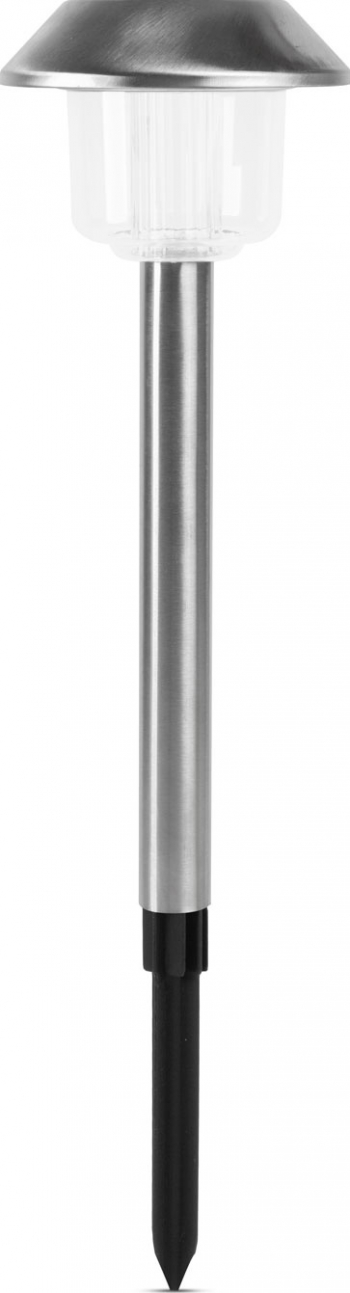 Lampa Solara LED Mare din Metal Satinat Argintiu Inaltime 45cm Corpuri de iluminat
