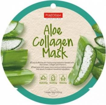 Masca cu colagen si extract de aloe vera Purederm Masti, exfoliant, tonice