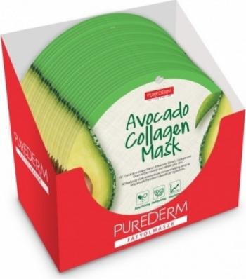 Set 24 masti Purederm cu colagen si extract de avocado Masti, exfoliant, tonice