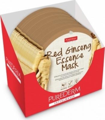 Set 24 masti Purederm cu extract de ginseng Masti, exfoliant, tonice