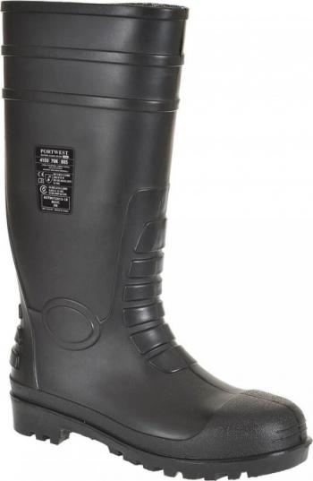 Cizme Total Safety Wellington S5-FW95 Regular Negru 46 Articole protectia muncii