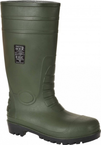 Cizme Total Safety Wellington S5-FW95 Regular Verde 37 Articole protectia muncii