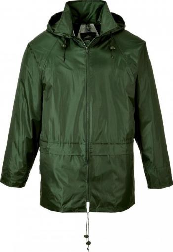 Jacheta de Ploaie Clasica Regular XXXL Verde masliniu