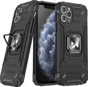 Husa de protectie Wozinsky Ring Armor iPhone 11 Pro Max Negru Huse Telefoane