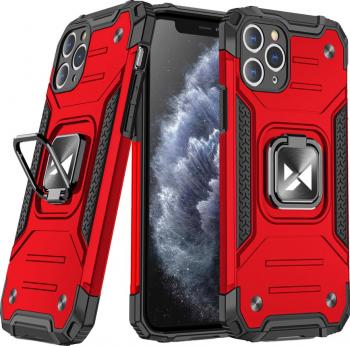 Husa de protectie Wozinsky Ring Armor iPhone 11 Pro Max Rosu Huse Telefoane