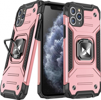 Husa de protectie Wozinsky Ring Armor iPhone 11 Pro Roz Huse Telefoane
