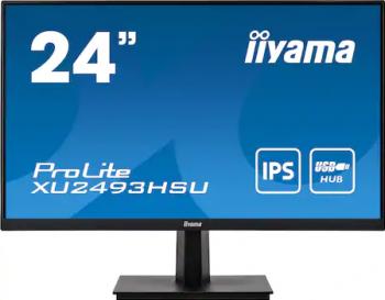 Monitor LED 24 Iiyama ProLite XU2493HSU-B1 FullHD 4 ms 75 Hz  IPS Monitoare LCD LED