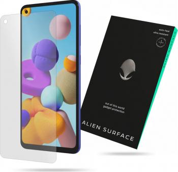 Folie de sticla Alien Surface Samsung Galaxy A21s Transparent Folii Protectie