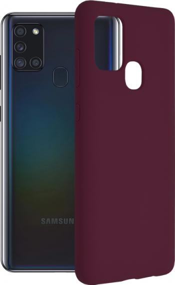 Husa de protectie compatibila cu Nillkin Samsung Galaxy A21S Mov Huse Telefoane