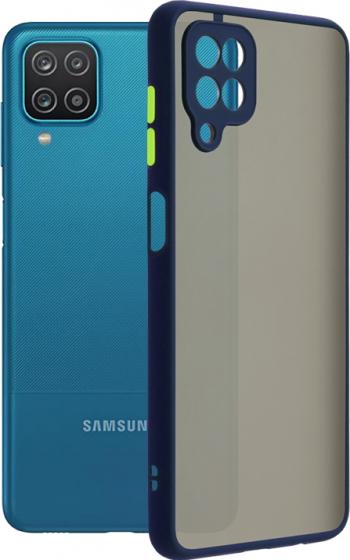 Husa de protectie compatibila cu Samsung Galaxy A12 / M12 Albastru