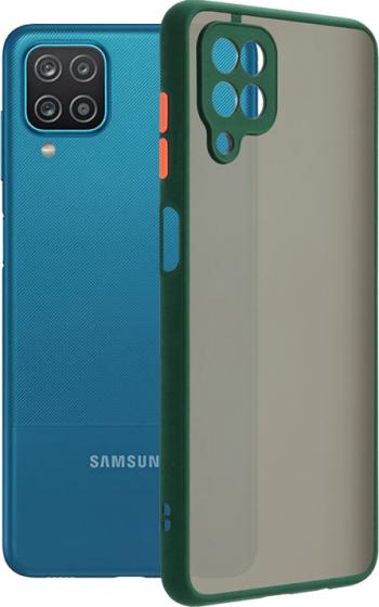 Husa de protectie compatibila cu Samsung Galaxy A12 / M12 Verde