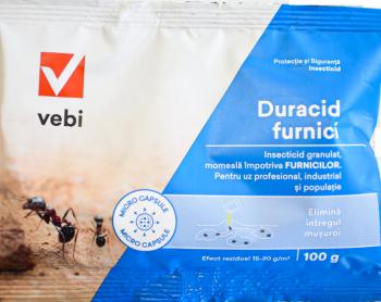 Insecticid granule Duracid furnici si alte insecte taratoare 100 gr Articole antidaunatori gradina