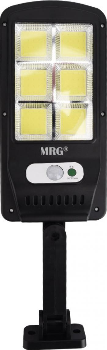 Lampa solara stradala MRG M-6035 120 LED Incarcare solara Negru Corpuri de iluminat