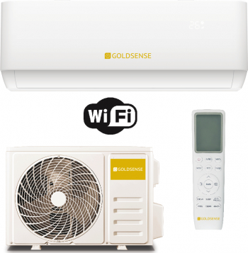 pret preturi Aparat de aer conditionat Goldsense GLSA12T 12.000 BTU Racire Clasa A++ Incalzire A+ 6 viteze Wifi Ready R32 Inverter
