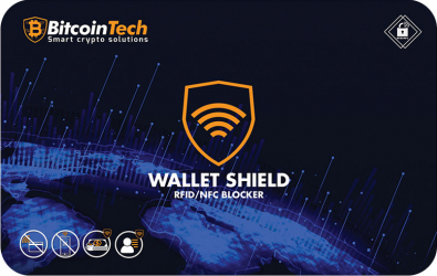 Card contactless pentru protejarea cardurilor bancare cu cip RFID si NFC antena puternica ce blocheaza pe o raza de aproximativ 5 cm model Gadgeturi