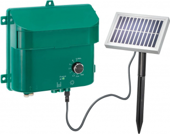 Kit Sistem de irigare prin picurare automat Cu panou solar Cu 15 aspersoare si Carlige de fixare