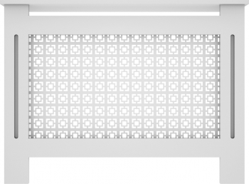 Masca de calorifer din MDF vopsit model 003 1120x828x203 mm alb Accesorii mobilier