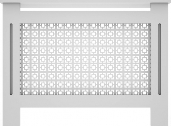 Masca de calorifer din MDF vopsit model 003 1120x828x203 mm gri Accesorii mobilier