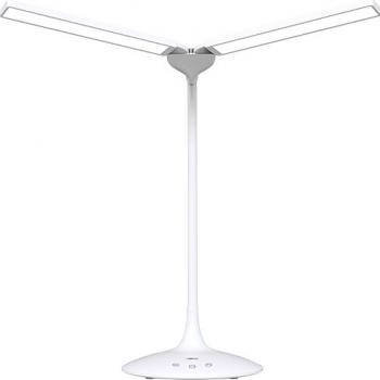 Lampa de birou cu LED Abko Gooseneck LS01 Alb