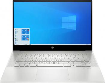 Laptop HP Envy 15-EP0035NQ Intel Core (10th Gen) i9-10885H 2TB SSD 32GB Nvidia Geforce RTX 2060 6GB 4K Touch Win10 FPR T.Ilum. Argintiu