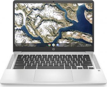 Laptop ultraportabil HP Chromebook 14a-na0290ng 14 inch Full HD IPS Intel Pentium Silver N5030 128 GB eMMC 8 GB DDR4 RAM Resigilat