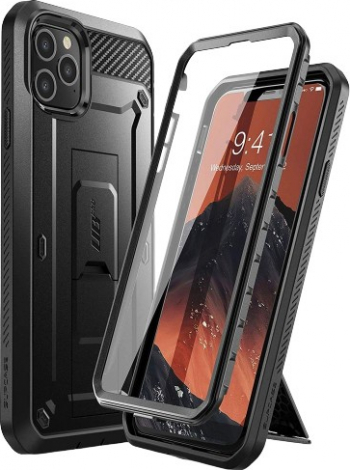 Husa Premium 360 Grade iPhone 11 Pro Max Unicorn Beetle Pro Negru Huse Telefoane