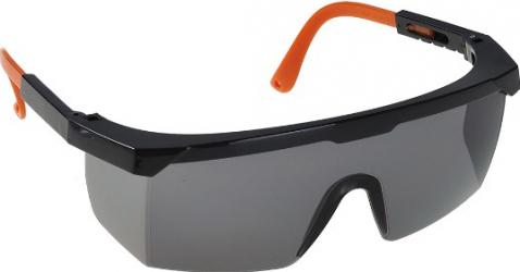 Ochelari de protectie PW33 fumurii/negru din policarbonat anti-aburire anti-UV