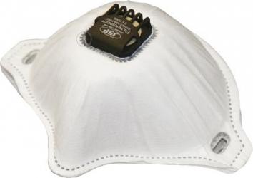 Rezerva de protectie cu supapa alba Filterspec JSP pentru masca de protectie cu supapa + ochelari FILTERSPEC