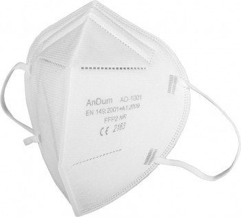 Masca Alba FFP2 and nbsp 5 straturi ambalata individual Conforma cu CE 2163 Masti chirurgicale si reutilizabile