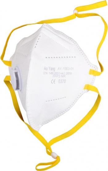 Masca FFP3 cu ValvaSupapa Filtrare BFE and ge 98 Ambalata individual Masti Conforme cu CE Masti chirurgicale si reutilizabile