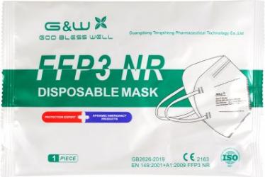 Masca FFP3 Filtrare BFE and ge 98 Mastile sunt Conforme cu CE Ambalata individual 5 straturi Masti chirurgicale si reutilizabile