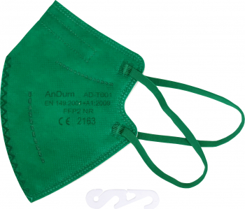 Masca Vernil FFP2 pentru copii 5 straturi Conforma cu CE 2163 ambalata individual Masti chirurgicale si reutilizabile