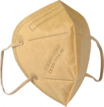Set 10 buc culoare bej Masca respiratoare KN95 FFP2 sigilate certificate CE Masti chirurgicale si reutilizabile