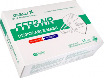 Set 10 Masti FFP3 Filtrare BFE and ge 98 Conforme cu CE fiecare masca este ambalata individual Masti chirurgicale si reutilizabile