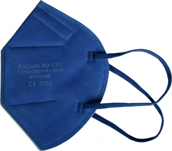 Set 5 Masca Albastra FFP2 model and nbsp AD-1001 5 straturi Conforma cu CE Masti chirurgicale si reutilizabile