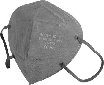 Set 5 Masca Gri FFP2 model and nbsp AD-1001 5 straturi Conforma cu CE Masti chirurgicale si reutilizabile
