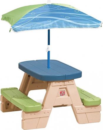 Masa picnic cu umbrela STEP2