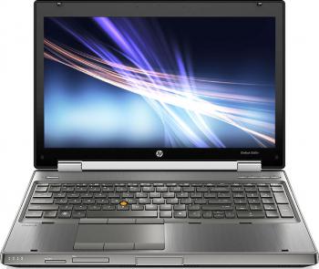Laptop Refurbished Hp EliteBook 8560w Intel Core i7-2670QM 2.20GHz 8GB DDR3 256GB SSD Full HD NVIDIA Quadro Q1000M DVD-RW Webcam 15.6 Inch