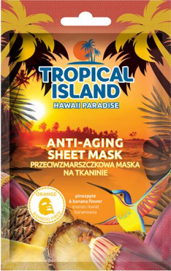 Masca de fata servetel Marion Tropical Island Hawaii Paradise portocaliu 1 bucata