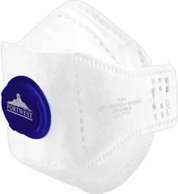 Masca de protectie cu valva Dolomite Fold EAGLE FFP2 Regular Alb one size