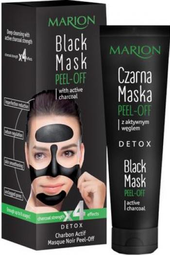 Masca neagra exfolianta Marion Pell-Off cu carbune activ 25g