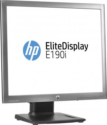 Monitor Refurbished HP EliteDisplay E190i 19 Inch IPS LED 1280 x 1024 VGA DVI DisplayPort USB